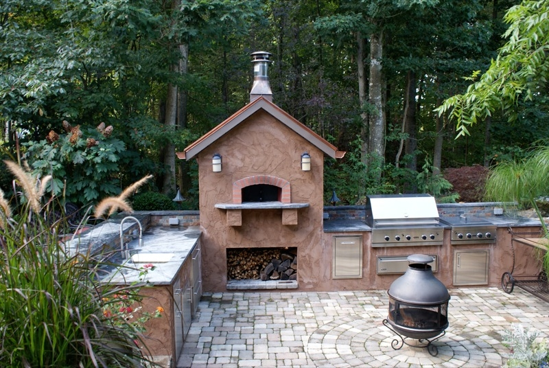 The C. McDaniel Outdoor Kitchen