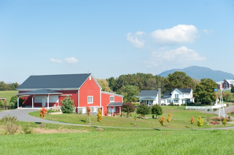 Crusher Run Farm Landscape