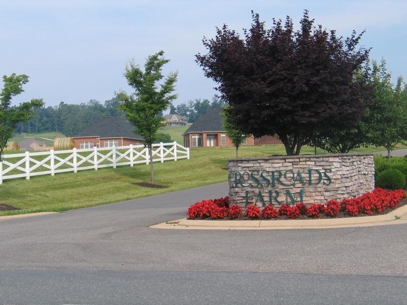 The Crossroads Farms Entrance